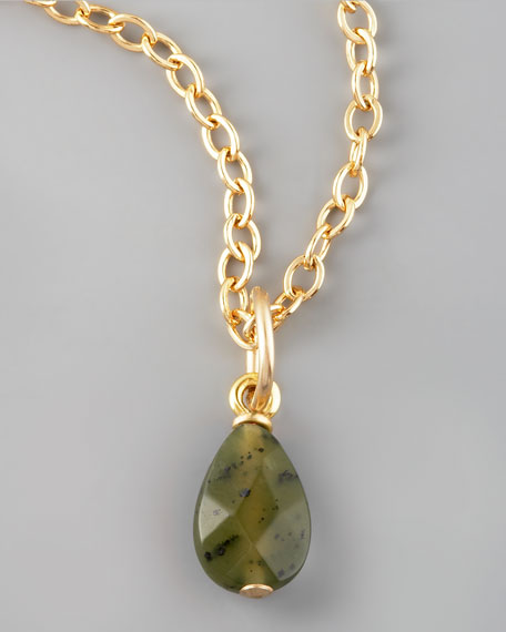 Green Jade Charm