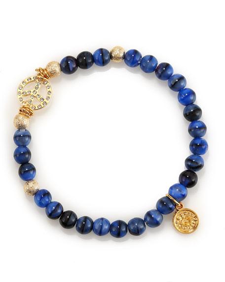 Beaded Peace Bracelet