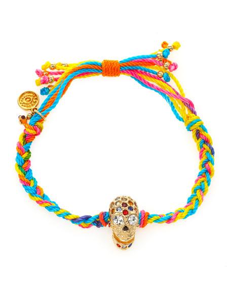 Multi-String Skull Bracelet