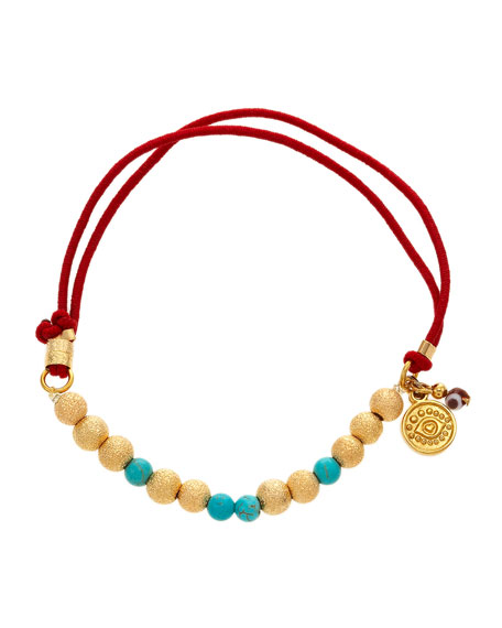 Elastic-Cord Beaded Bracelet