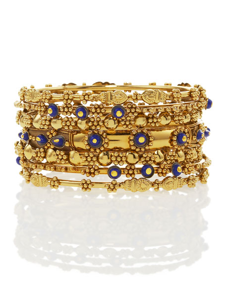 Six-Piece Bangle Set