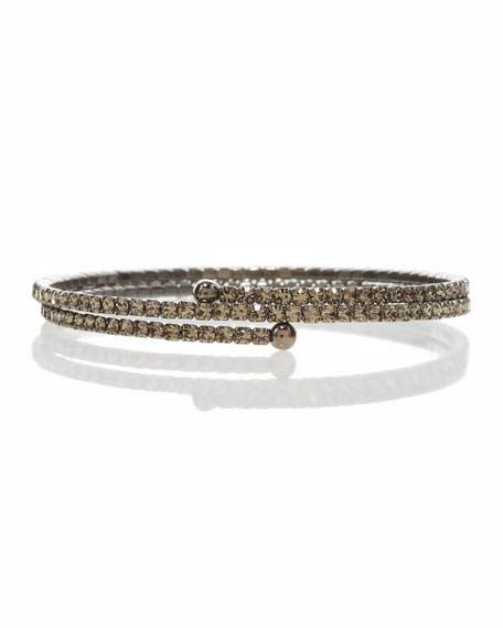 Pave Wraparound Stretch Bracelet