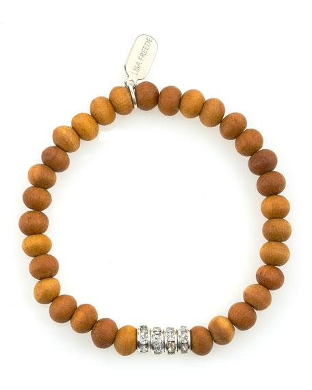 Sandalwood Rondell Bracelet