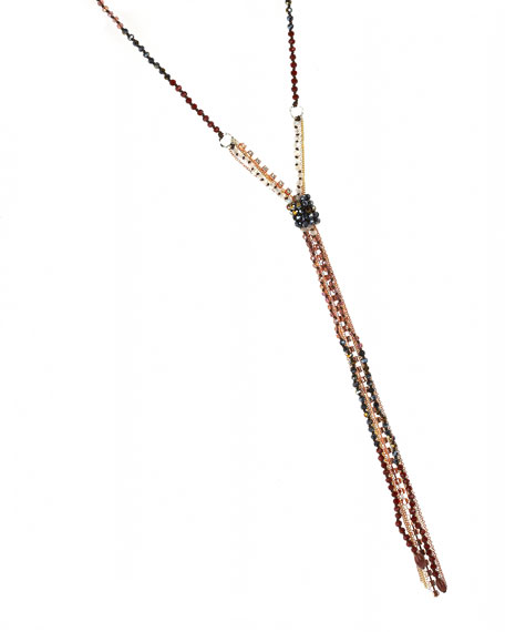 Gose Beaded Knot Necklace
