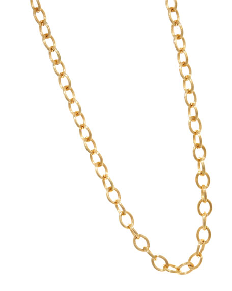 Golden Link-Chain Necklace