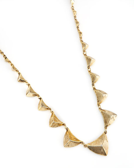 Pyramid-Station Necklace