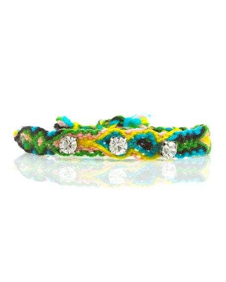 Emerald Gypsy Friendship Bracelet (CUSP Top Seller!)