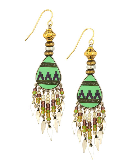 Southwest Fly Girl Earrings