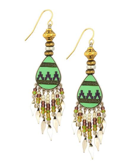 Southwest Fly Girl Earrings