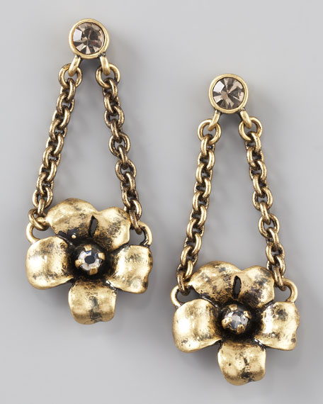 Flower Garland Earrings