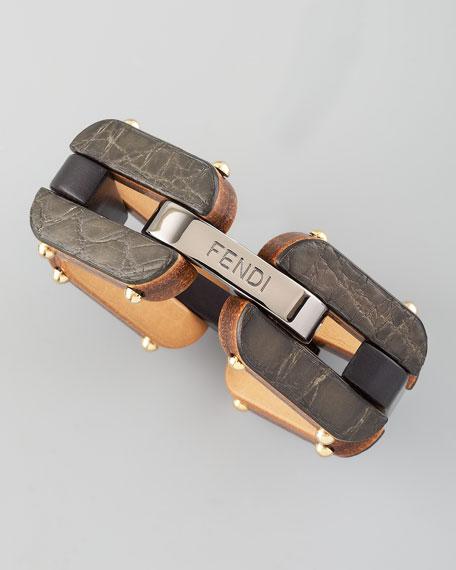 Lightweight Link Bracelet, Black