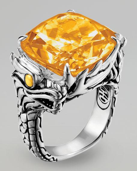 Naga Batu Ring, Citrine