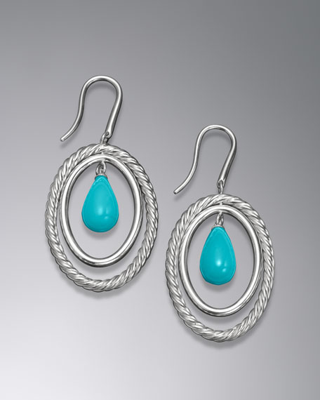 Mobile Earring, Turquoise