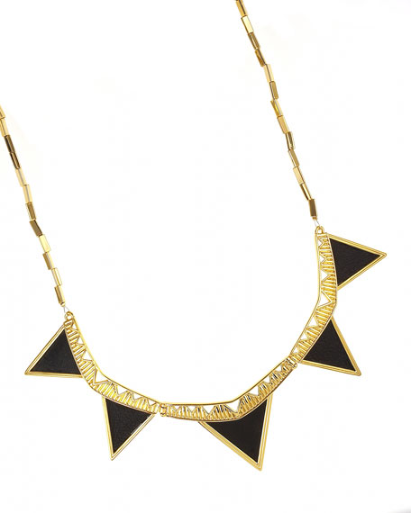 Triangle Armor Necklace
