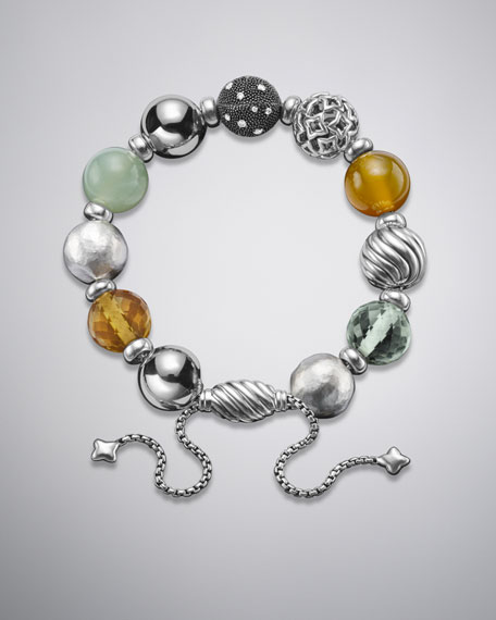 David Yurman Elements Bracelet, Prasiolite