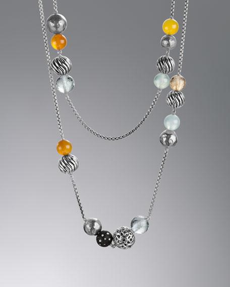 Elements Necklace, Prasiolite