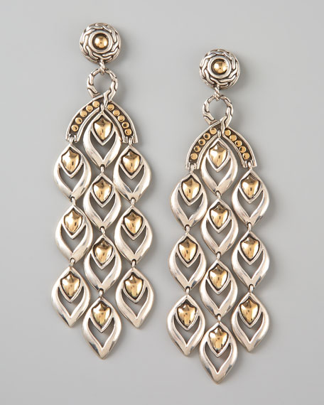 Extra Long Chandelier Earrings