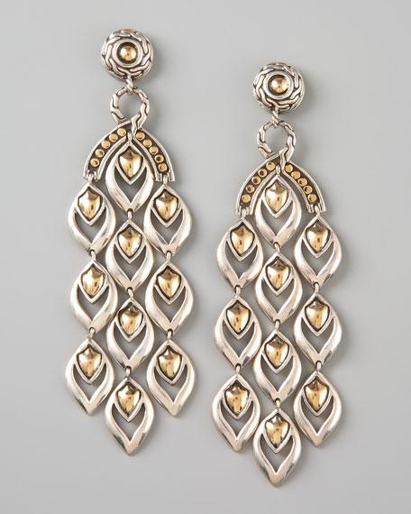 Extra Long Chandelier Earrings