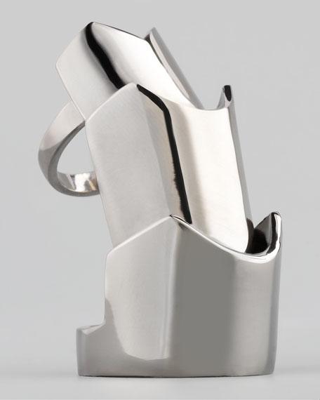 Hinged Plate Ring, Gunmetal