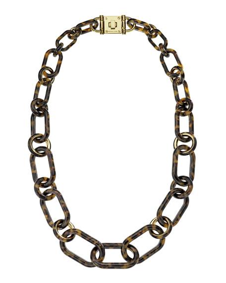 Turnlock Closure Necklace