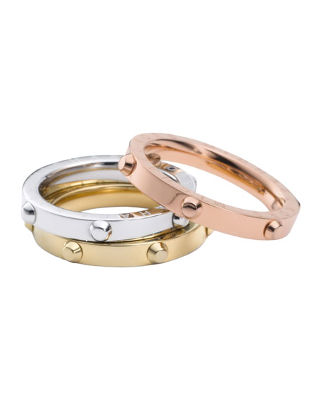 Exclusive Tri-Tone Screw Rings