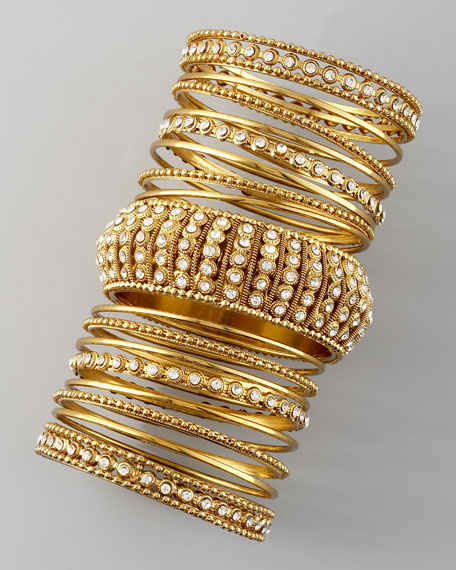 17-Piece Bangle Set