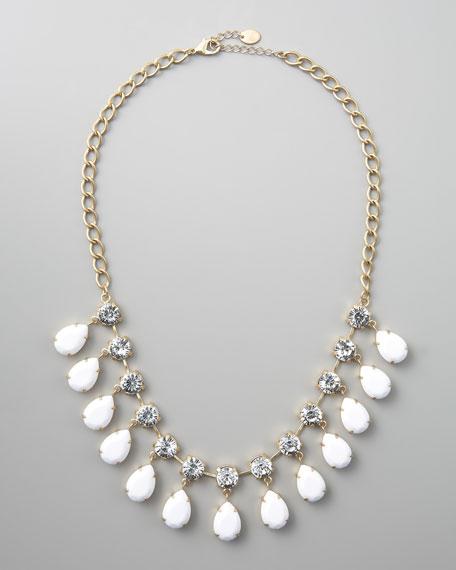 Enamel-Drop Necklace