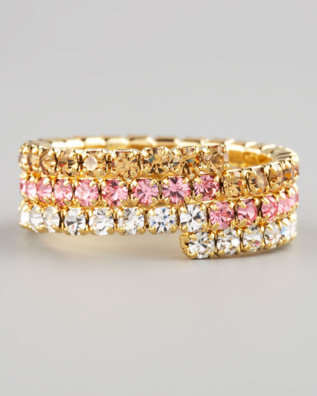 Triple-Wrap Stretch Eternity Band