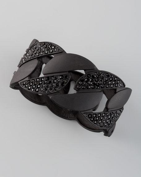 Pave Chain Cuff