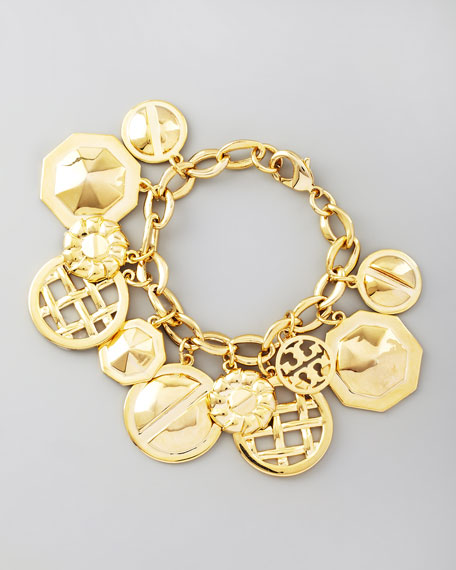 Labyrinth Charm Bracelet