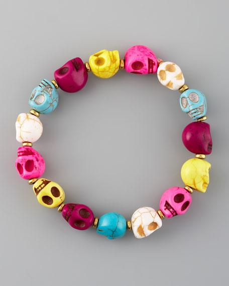 Skull-Bead Bracelet