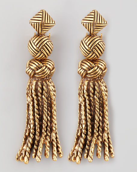 Tassel-Knot Earrings
