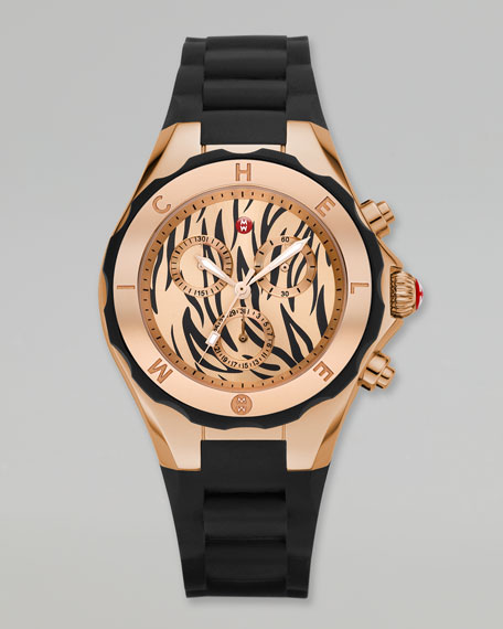 Tiger Tahitian Large Jelly Bean Watch