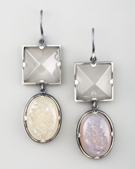 Double-Drop Earrings