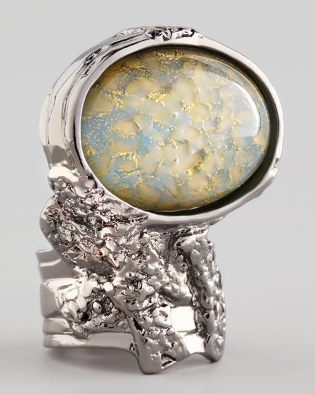 Silvertone Arty Ring, Sky