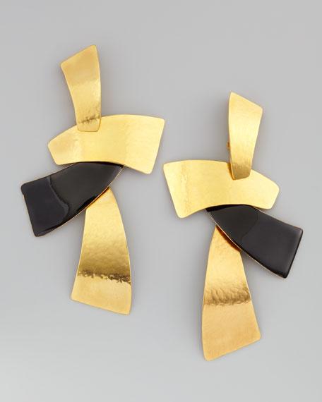Module Clip Earrings