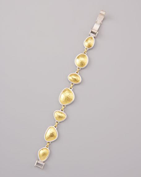 Gold-Silver Element Bracelet