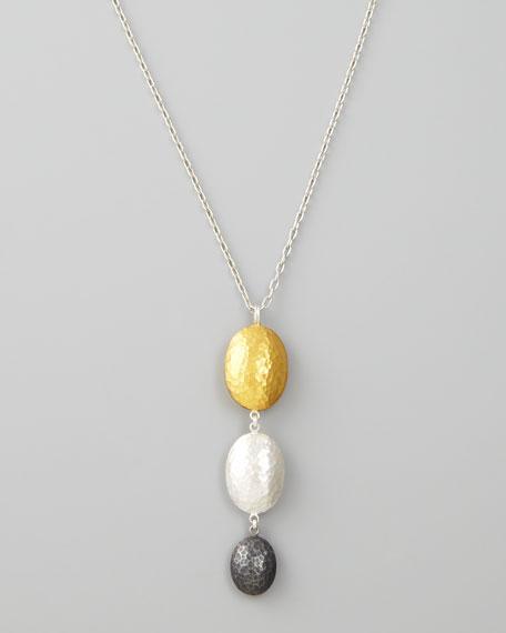 Jordan Triple Drop Necklace