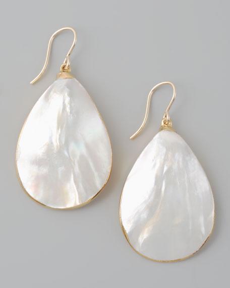 Mother-of-Pearl Teardrop Earrings
