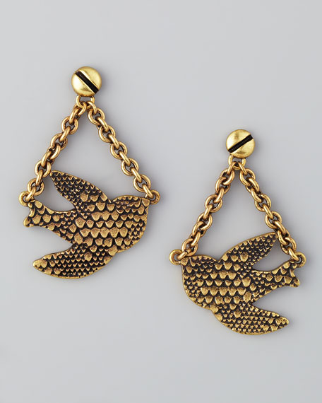 Swing Flock Earrings