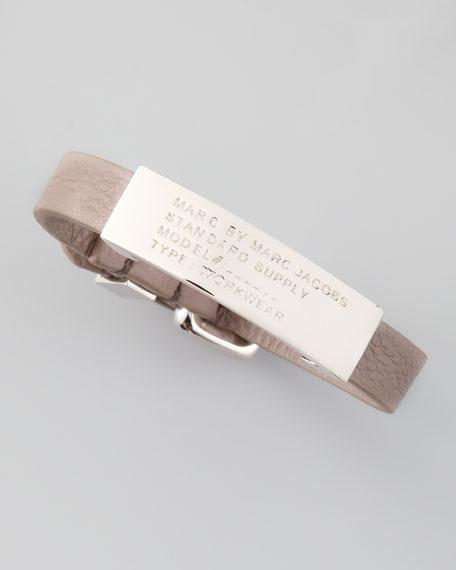 Standard Supply ID Bracelet, Light Gray