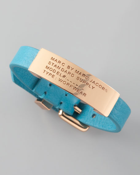 Standard Supply ID Bracelet, Teal