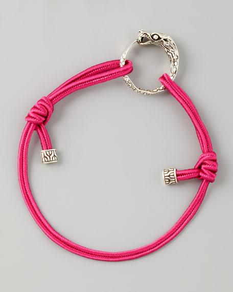 Naga Cord Bracelet, Pink