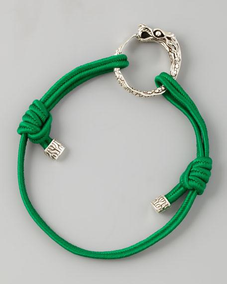 Naga Cord Bracelet, Green
