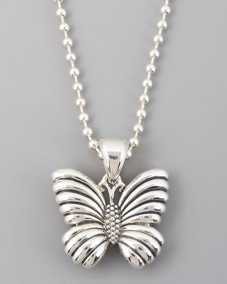 Rare Wonders Butterfly Pendant Necklace