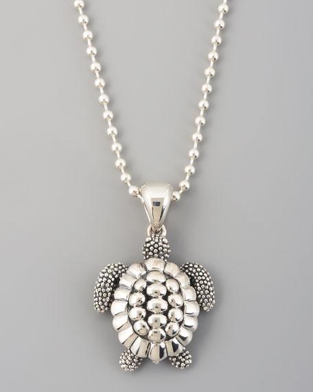 Rare Wonders Sea Turtle Pendant Necklace
