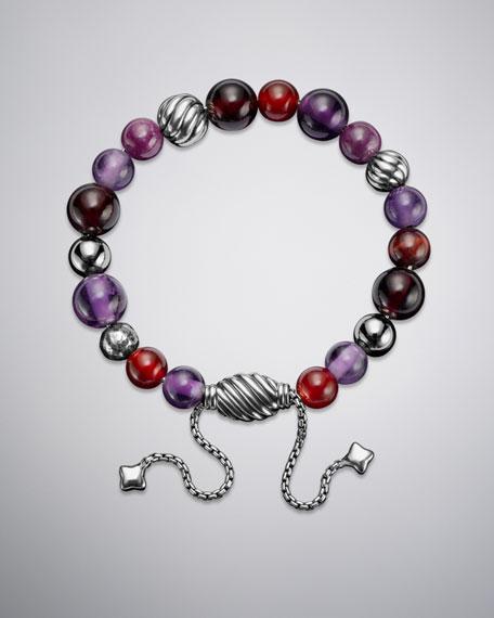 Spiritual Bead Bracelet, Amethyst