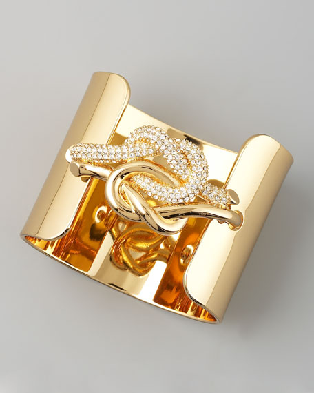 Love Me Knot Bracelet, Wide