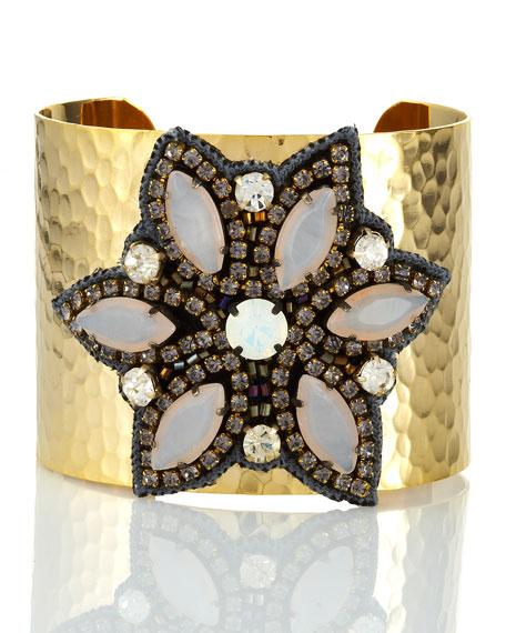 Marquise Flower Cuff