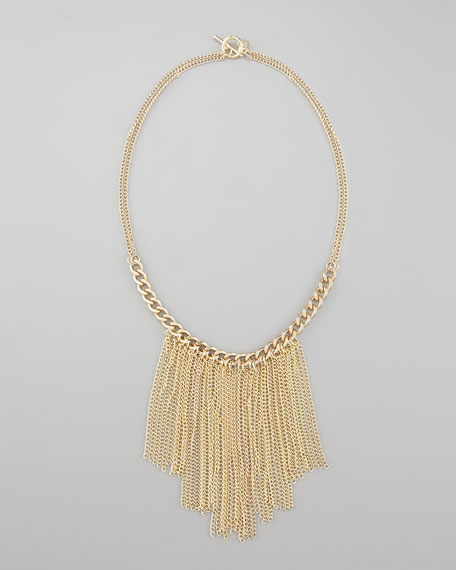 Rockstar Fringe Necklace
